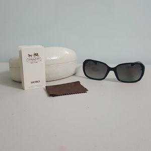 Coach Signature Sunglasses -Black (Style: 5002/11)